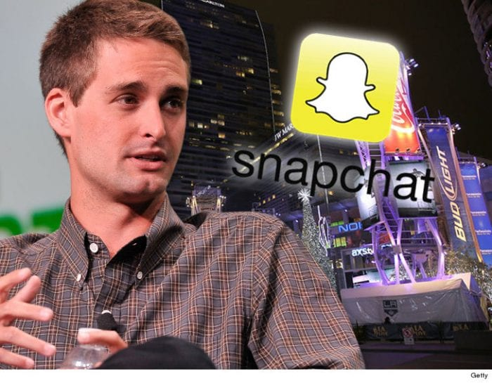 Snapchat & CEO Evan Spiegel Drop $4 Million to Rent Out L.A. Live For MASSIVE NYE Bash!!!