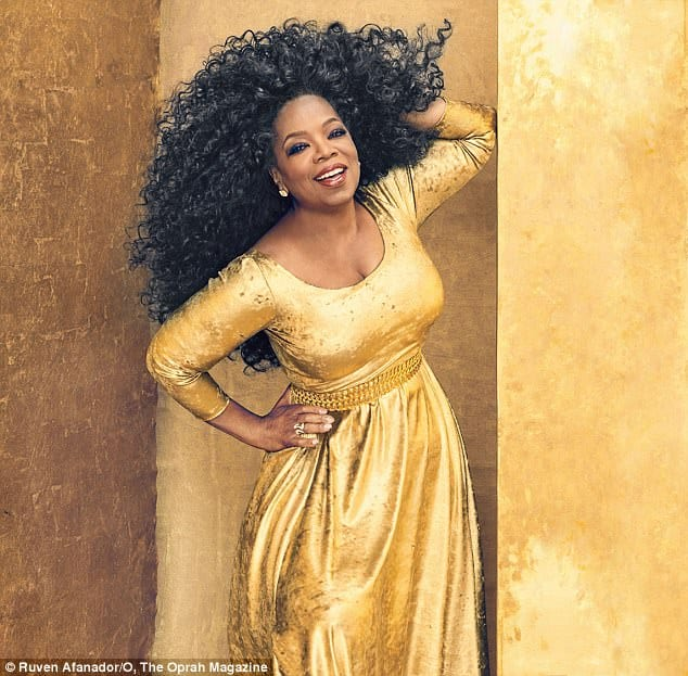 Oprah Winfrey Channels Diana Ross For O Magazine