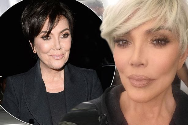 Kris Jenner dyes hair blonde to match daughters Kim and Khloe Kardashian