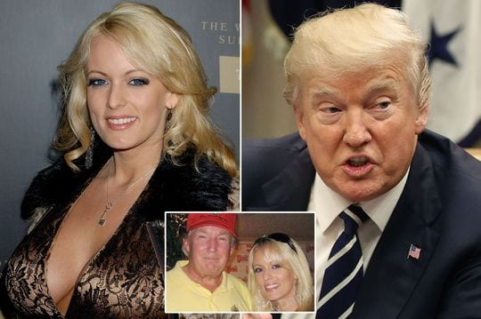 EYE OF THE STORM Who is Stormy Daniels? Porn star name of Stephanie Clifford who Donald Trump has denied 'paying hush money'