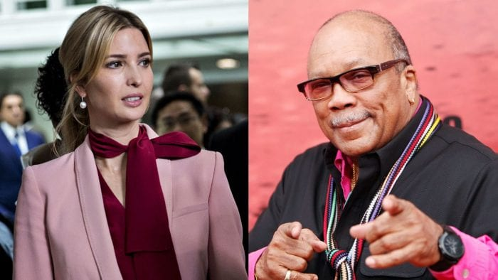 Quincy Jones Claims He Dated Ivanka Trump 12 Years Ago