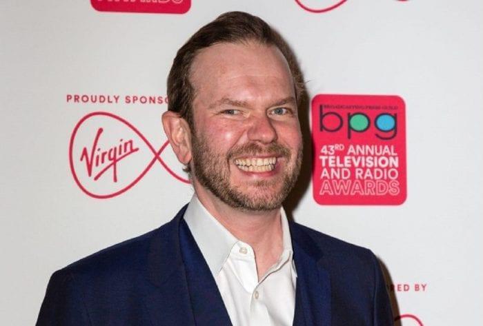 Radio presenter James O'Brien reveals his young daughter sends secret texts to her dead granddad telling him what she's been up to
