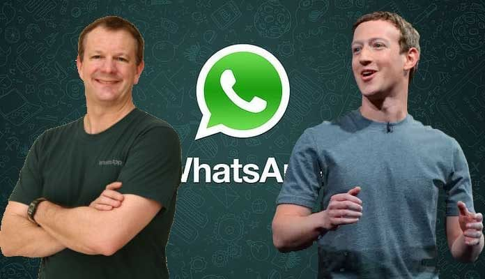 WhatsApp co-founder insists it's time to DELETE Facebook – two years after selling his app to Zuckerberg's firm for $19bn
