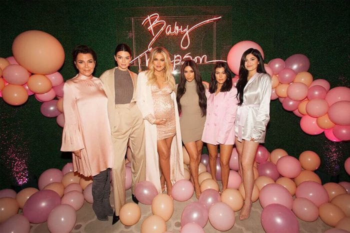 Inside Khloé Kardashian's Balloon-Filled, Perfectly Pink Baby Shower