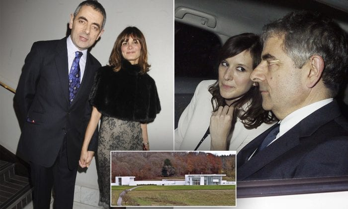 Rowan Atkinson hands £10million ultra-modern mansion to ex-wife as part of their divorce deal... after fighting a decade-long planning battle to build it