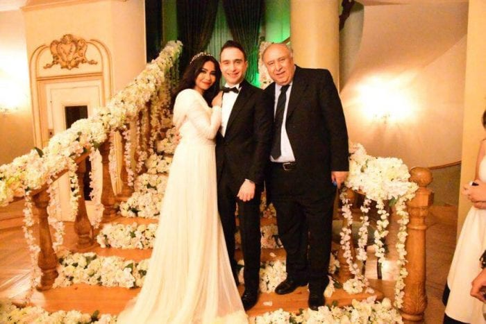 Sherine Abdel-Wahab houssam habib wedding