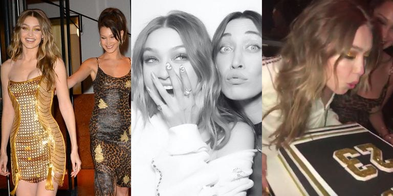 Gigi Hadid And Bella Hadid Are Bonafide Golden Girls To Celebrate Birthday In New York