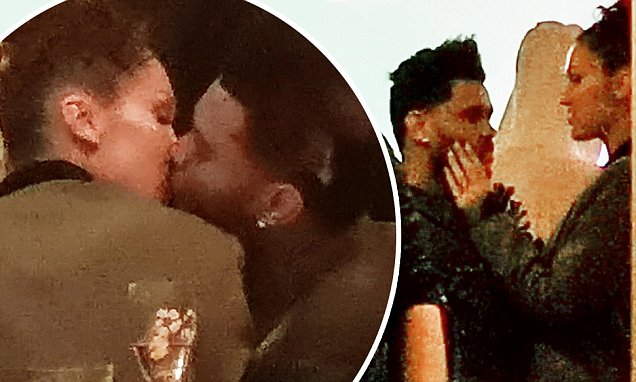 Bella Hadid kisses ex The Weeknd at Cannes party together