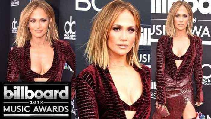 Jennifer Lopez Looks So Hot on BBMAs 2018 Red Carpet!