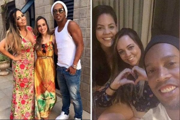 Ronaldinho 'set to marry two women at same time after living with duo at his £5m Rio mansion'