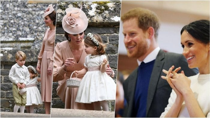 Prince George, Princess Charlotte to have starring roles in royal wedding