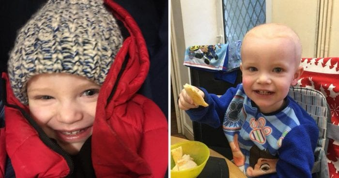 Thieves steal money raised to send boy, 2, to US for cancer treatment