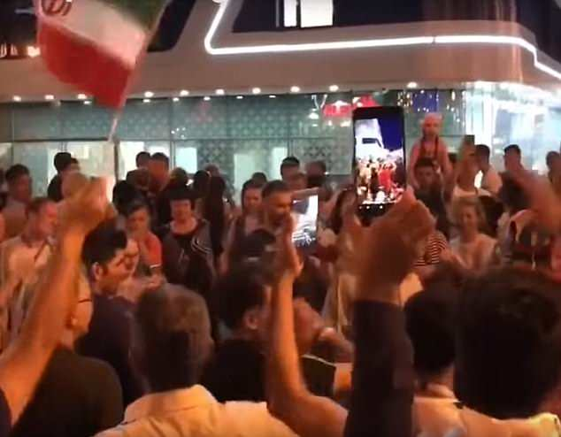 Cristiano ronaldo asking the Iranian fans outside of Portugal national team hotel to let him sleep