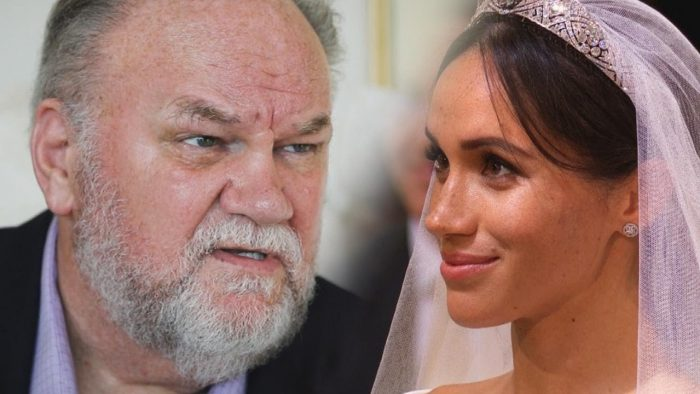 Meghan Markle's father claims his daughter is struggling to adjust to royal life