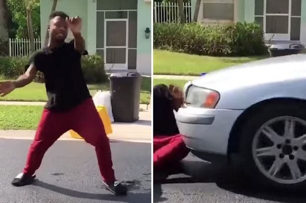Man gets hit by a car in this 'In My Feelings' Challenge fail