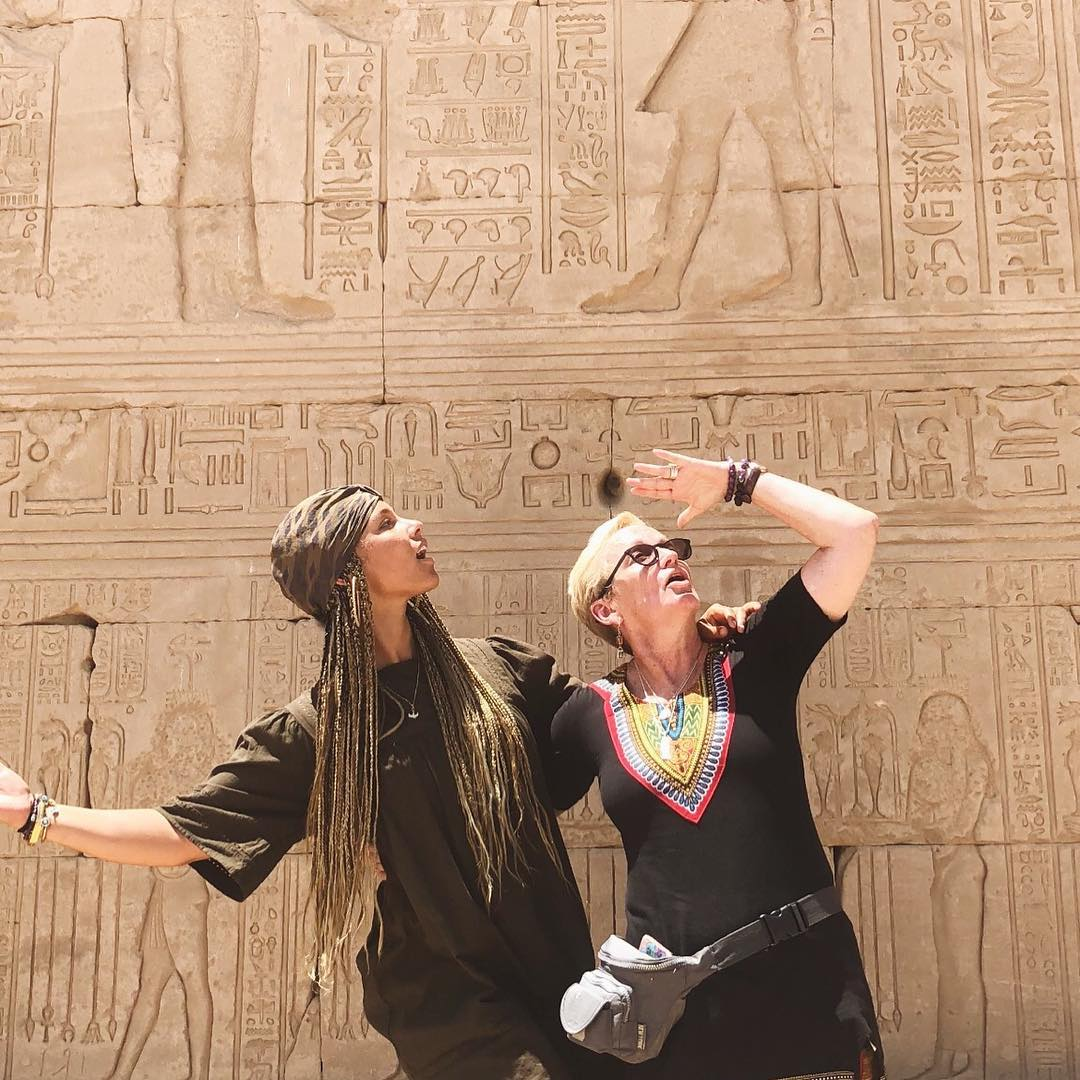 Alicia Keys, family delighted over visit to Egypt