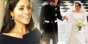Meghan Markle sparkles as she's reunited with stunning wedding dress in Kensington Palace