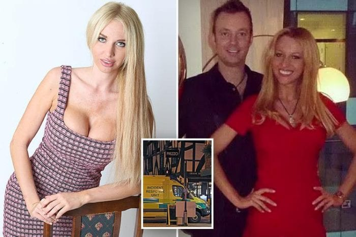 Husband of Russian model who claims Putin tried to kill her is friends with notorious conman
