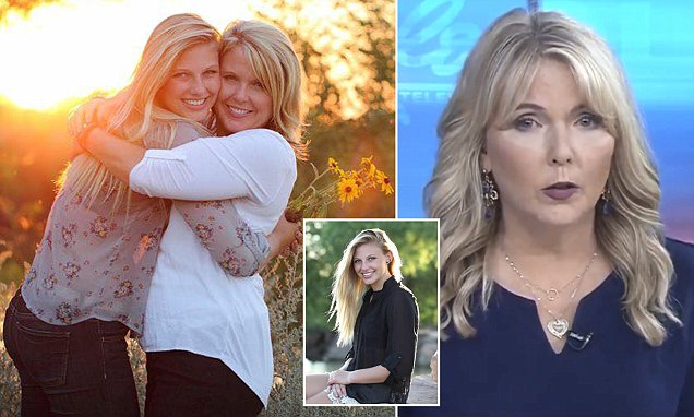 Veteran news anchor reports on her own daughter's drug overdose in emotional plea to end the opioid crisis, and reveals the 21-year-old died three days before was due to go into rehab