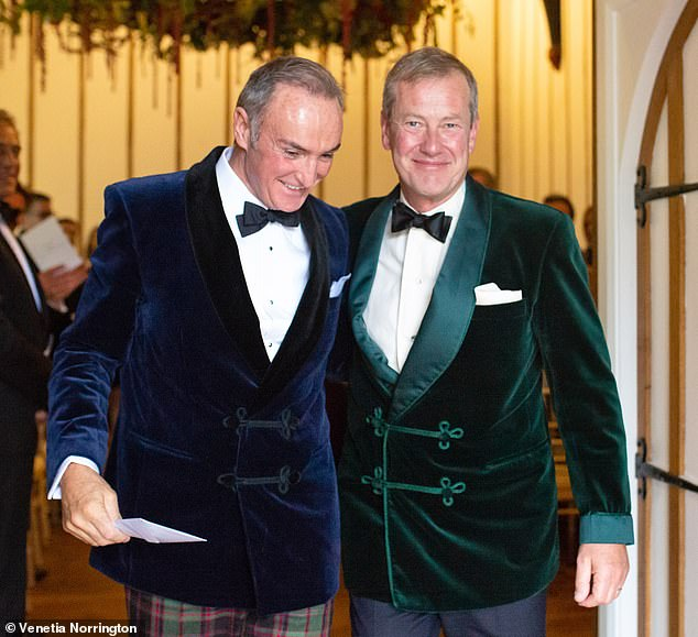 Queen's cousin marries two years after coming out as gay