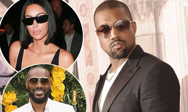 Kanye West demands female reporter be kicked out of Ralph Lauren Fashion Show for asking question about Kim's feud with Tyson Beckford
