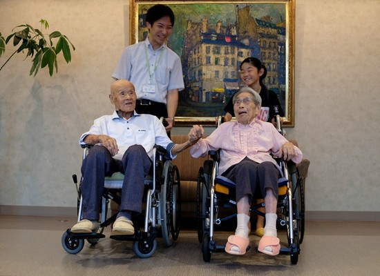 World's oldest living couple reveal the secret to their 80 YEAR marriage