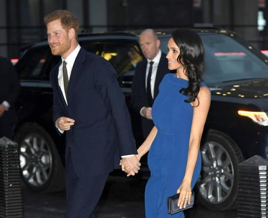 Signs show Meghan Markle pregnant first baby of Prince Harry