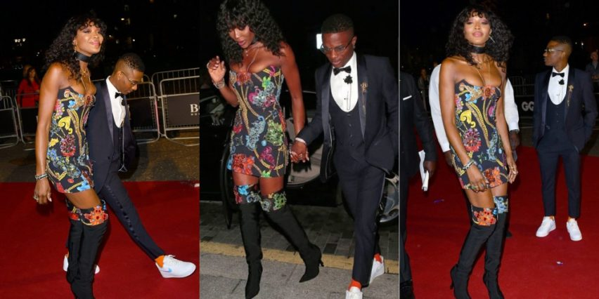 Naomi Campbell & Wizkid At The GQ Men Of The Year Awards