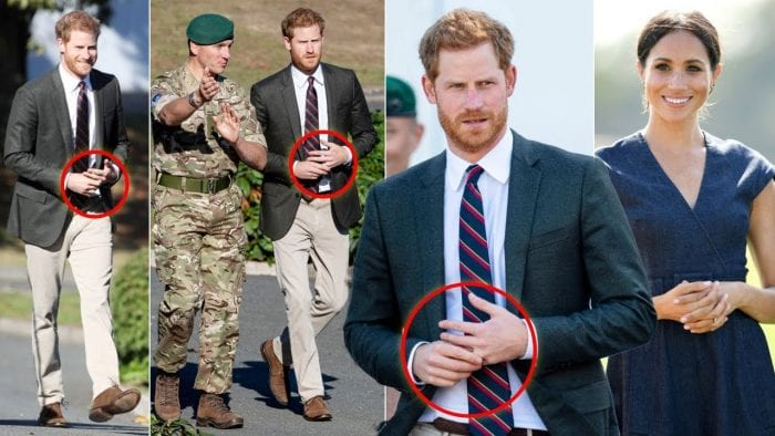 Prince Harry Fiddling With Wedding Ring