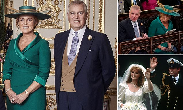 Fergie is being carefully slipped back into the royal family