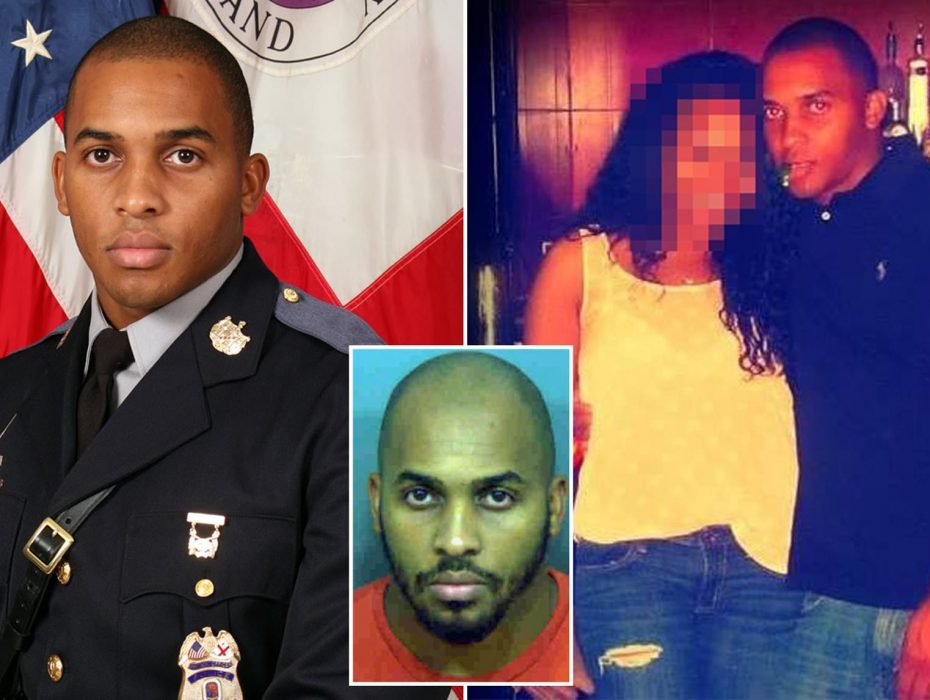 Married Maryland police officer, 29, is arrested for 'raping a woman in her car during traffic stop', and his colleagues believe he has attacked more victims