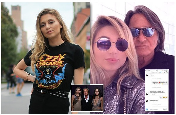 Father of Gigi and Bella Hadid had three-year affair with Polish model, 25, who reveals the engaged 70-year-old told her he 'wanted to eat pierogies off her body'