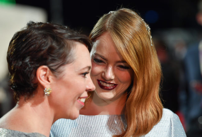 Emma Stone insisted on being naked in lesbian film The Favourite