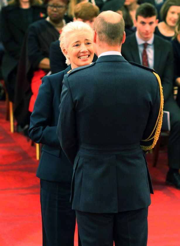 Emma Thompson Asked Prince William for a Kiss