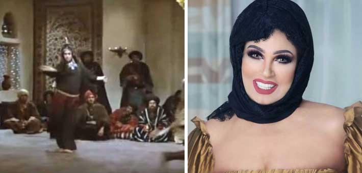 فيفي عبده في فيلم الرسالة
