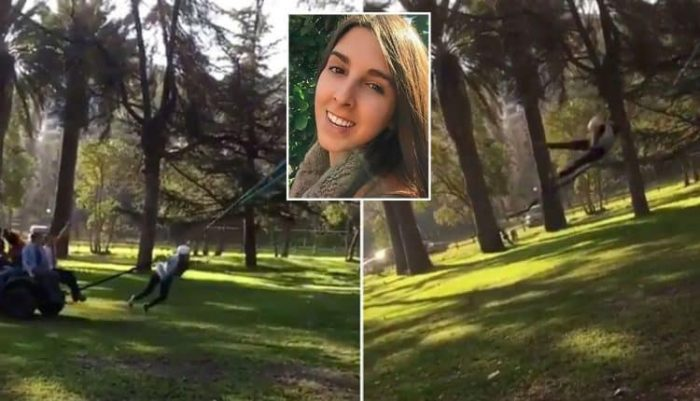 Terrifying ,Model gets whiplash after being fired from a giant catapult