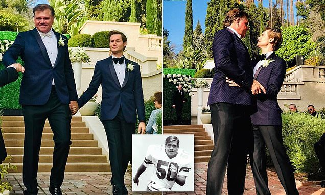 Former Cowboys star Jeff Rohrer marries celeb facialist Joshua Ross