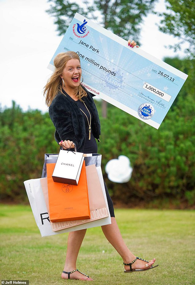 Britains youngest EuroMillions winner Jane Park, 23, is offering to pay a man £60,000 a year to DATE her after splitting from her footballer boyfriend