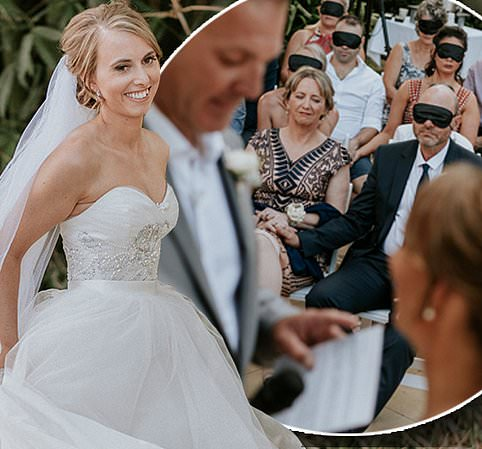 Australian bride-to-be Stephanie Agnew, 31, recently went shopping for her