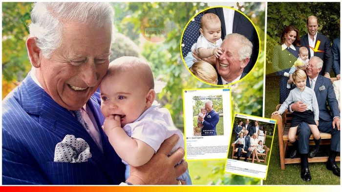 Prince Charles is adored by grandchildren