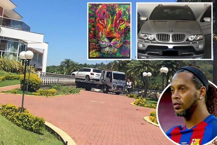 Ronaldinho sees three cars seized after it was revealed he has '£5 in bank account'