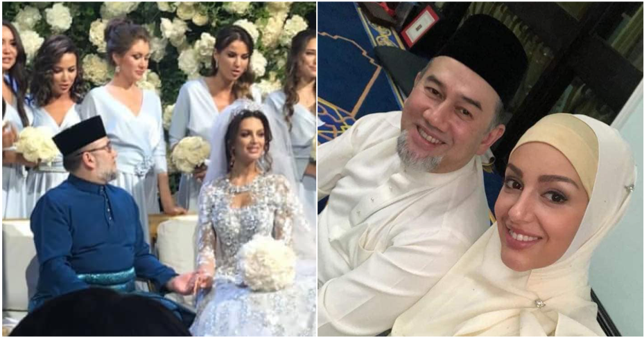 wedding SPB Yang DiPertuan Agong - King of Malaysia as reported