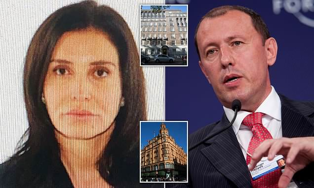 Mystery woman who blew £16million at Harrods is wife of disgraced Azerbaijan banker jailed for stealing £125million