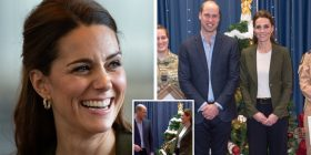 Moment Prince William compares Kate to a CHRISTMAS TREE