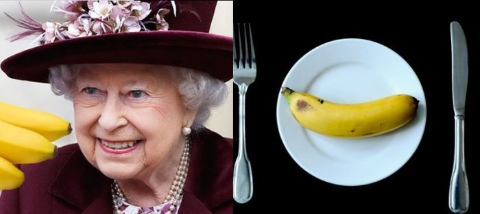 Why Queen Elizabeth Eats Bananas With A Knife And Fork