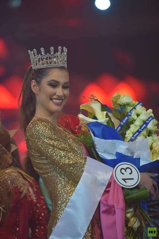 Sana Mahmoud crowned as Miss Kurdistan 2018