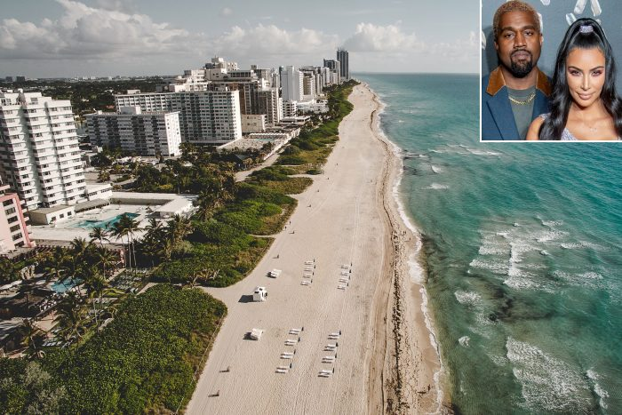 Kim Kardashian and Kanye West Buying Miami Condo Listed for $15.5 Million
