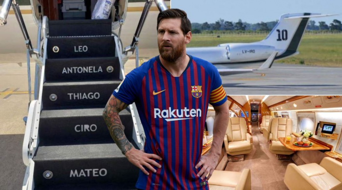 Lionel Messi's £12 Million Private Jet Is Out Of This World