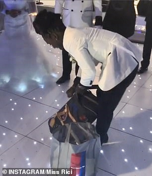 Drama As Singer Drops Two Bags Stuffed With $100K Cash As Wedding Gift To Mom