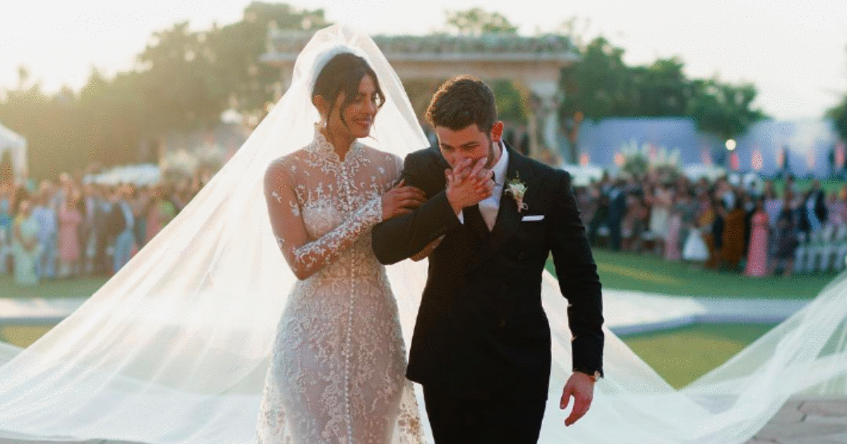 Nick Jonas And Priyanka Chopra's Wedding